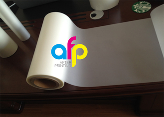 Thermal Matt Lamination Roll , Printing Media Laminate Mylar Film Roll