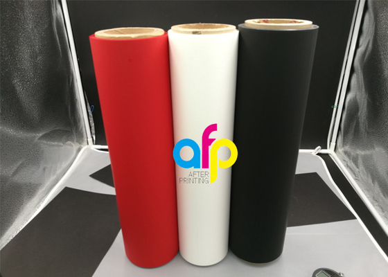 Black Matte Velvet Lamination Films
