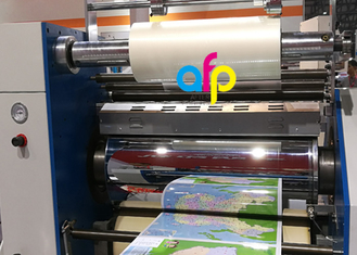 BOPP Lustre Finish Glossy Thermal Lamination Film Transparency / Opaque