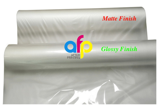 FDA Quality Thermal Laminating Film Roll with Glossy or Matte Finishing